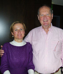 Margret Springl Author of the singing family from Salzburg with Johannes von Trapp